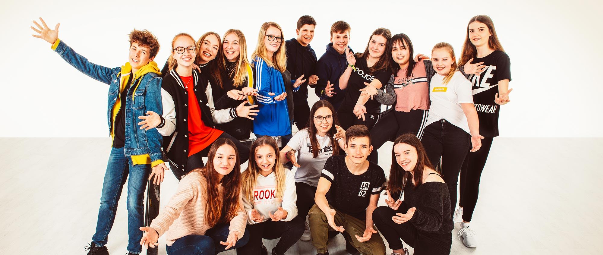 Teens bei Joschko-Tanzen